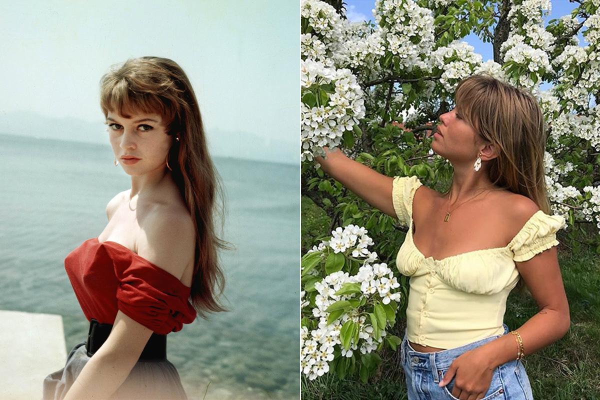 Las blusas sin hombros fueron bautizadas como Bardot por la afición de la diva a usarlas.